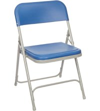 Metal Folding Chairs (Set of 4) in Folding Chairs